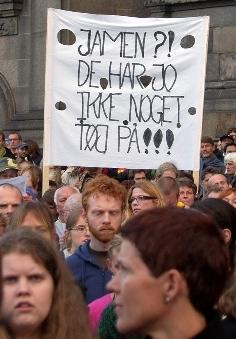 Fra nedskæringsdemo Århus 2006