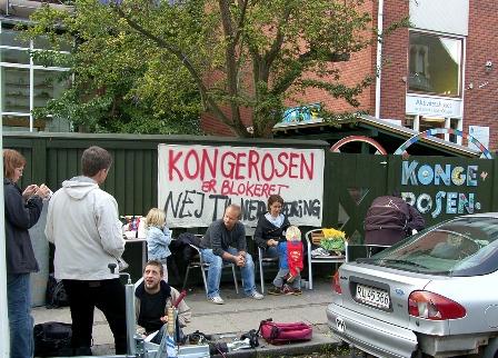 Blokade af børnehave i København oktober 2006