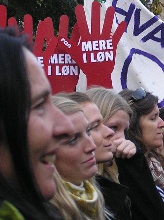 Fra demo i Århus 3. oktober 2007