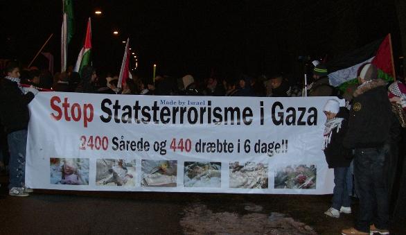 Stop Israels statsterrorisme i Gaza