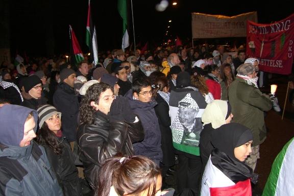 Mere end 800 mødte op for at protestere