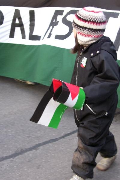 Lad Gaza Leve Demo 17. januar 2009