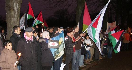 60 år er nok! Frit Palæstina!