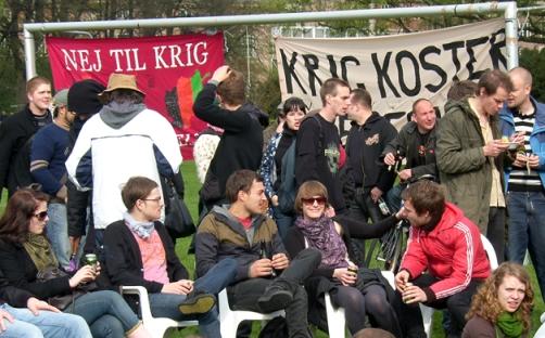 Den Røde Plads Fælledparken 1. maj 2008