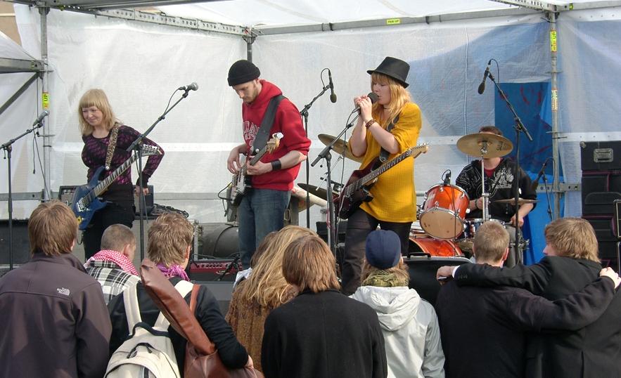 Mind Scape Fælledparken 1. maj 2008