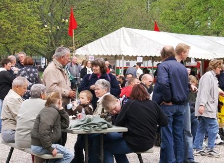 Rød 1. maj Kgs. Have Odense