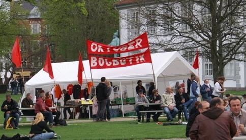 Oktober Bogbutik Kgs. Have Odense 1. maj 2008