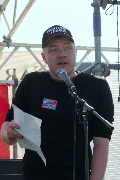 Kristian Dalgaard APK Den røde Plads 2009