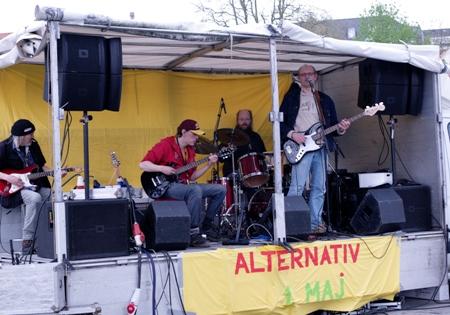 Hjemløsebandet 1. maj 2010