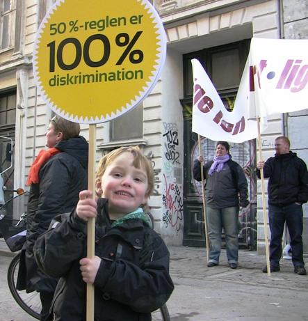 Væk med den diskriminerende 50 pct. regel for HK - 8. marts 2010