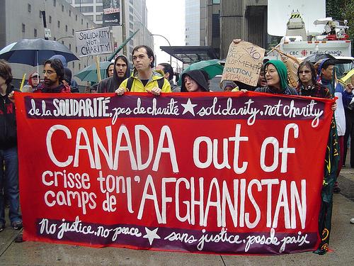 Der er stærk modstand i Canada mod Afghanistan-krigen