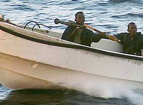 Somaliske pirater