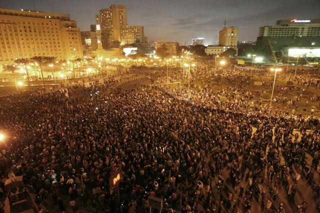 Masseprotest Cairo