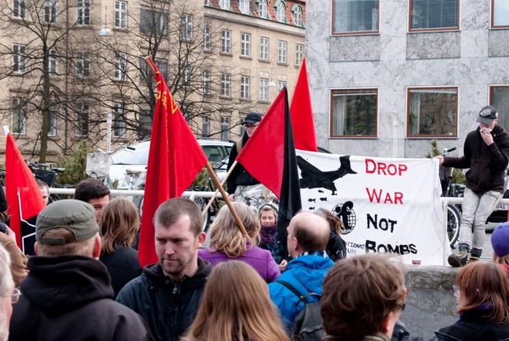 Demo mod Libyen-krig Århus 30. marts 2011