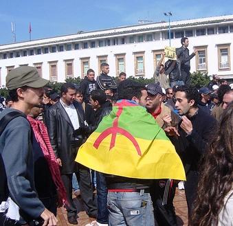 Over hele Marokko protesteredes der den 20. februar 2011