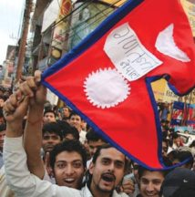 Republikkens sejr fejres i Kathmandu