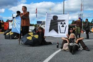 Blokade af Olkiluoto 28. august 2010