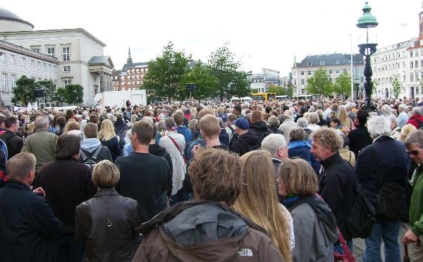 Stop tyvangsudvisning Christiansborg 18. juni 2009