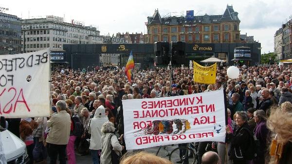 Stop tvangsudvisning Rådhuspladsen 18. juni 2009