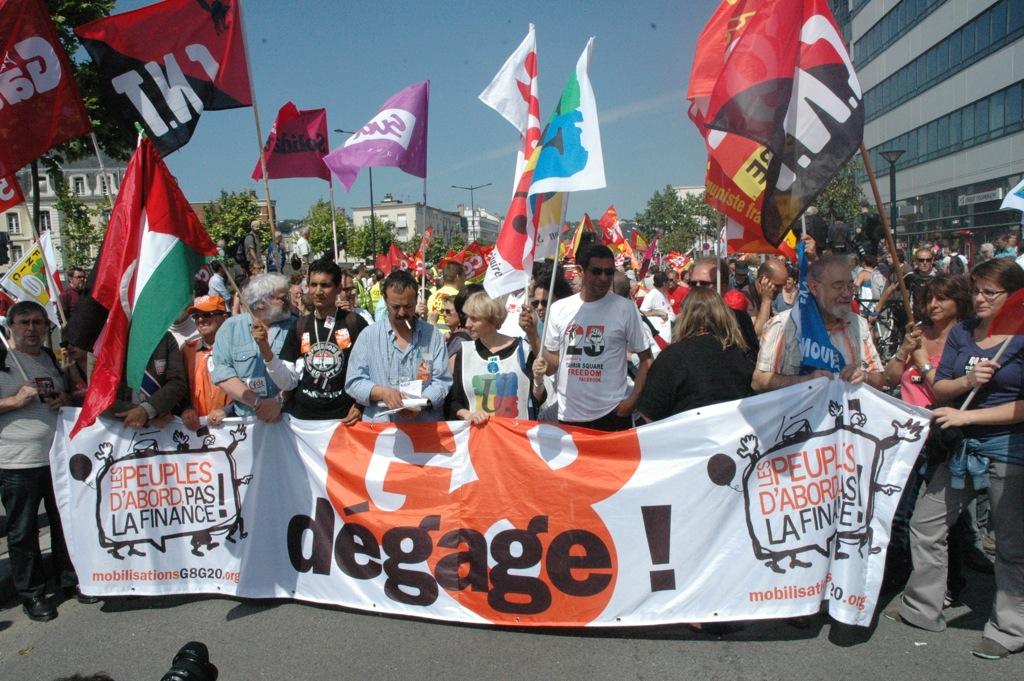 G8 protest i Frankrig 2011