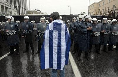 Græsk protest