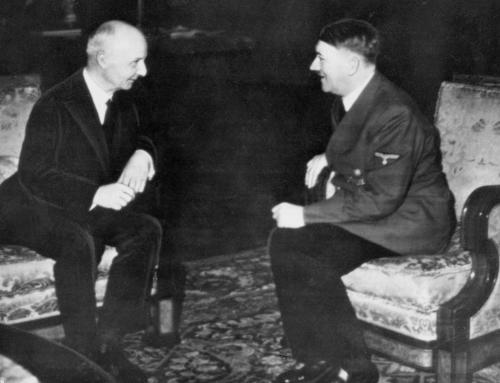 Erik Scavenius i audiens hos Hitler 1941