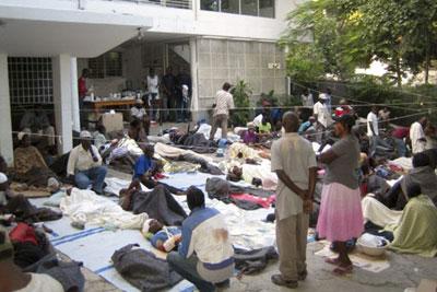 Haiti: Læger uden grænser ved nødhospital