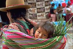 Peru: Mor og barn