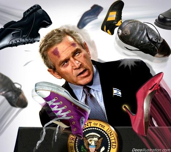 Bush: Shoe Follow Up