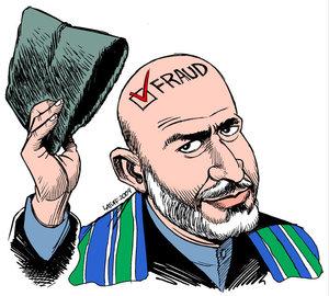 Satire af Carlos Latuff