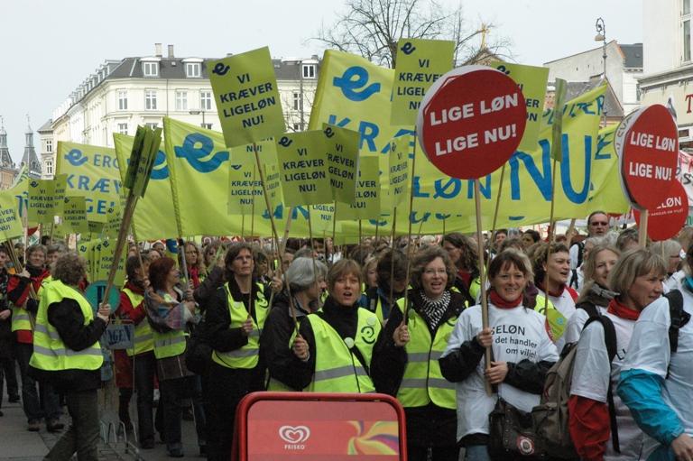 Storkonflikten 2008: Ligeløn NU