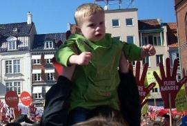 DEmo Odense 21. april