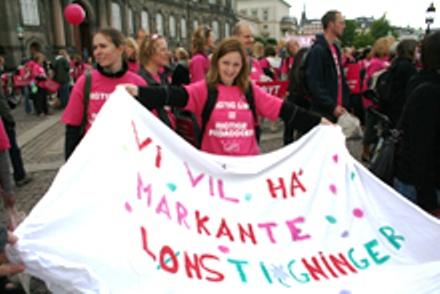 Markante lønstigninger! København 20. maj