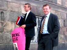 Lars Løkke under storkonflikten foråret 2008