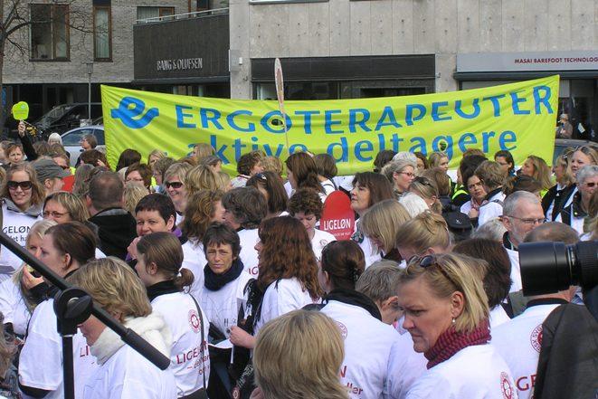 Storkonflikt 2008 Demo Århus 16. april