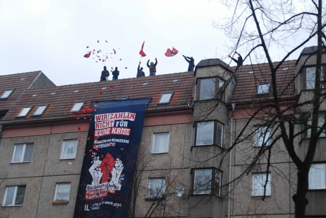 Hilsen fra hus i Berlin 28. marts 2009