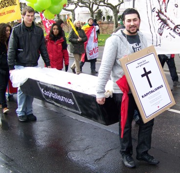 Tyskland: Begravelsesatog 28. marts 2009