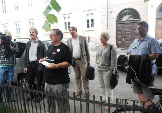 Prosamedlemmer ved Arbejdsretten 12. juni 2011
