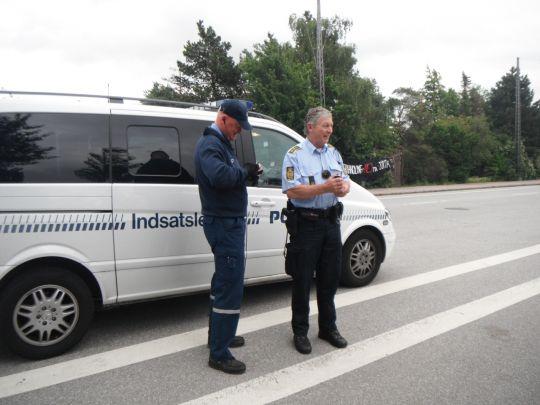 CSC: Strejkebrydere arbejder under politibeskyttelse