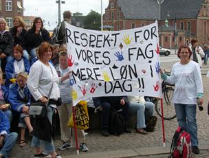 Sosu demo Christiansborg