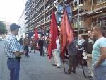 Protest i Trekronergade 2009