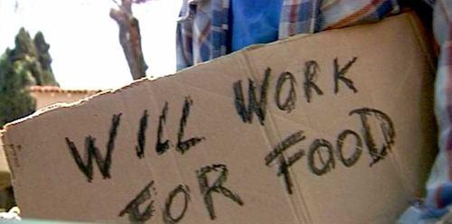 Vil arbejde for mad: Den nyliberale drøm