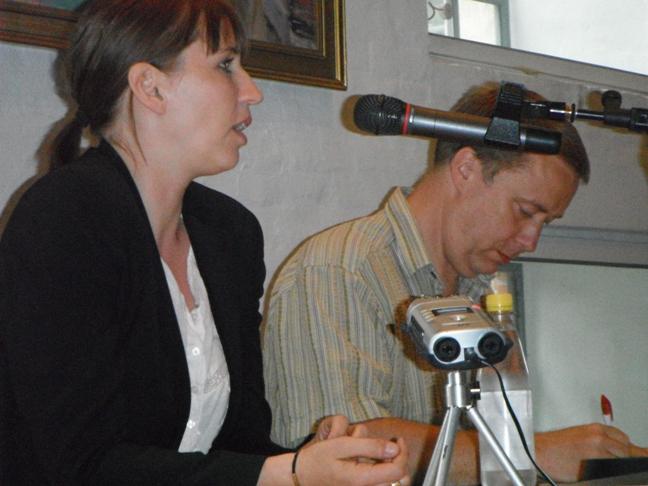 Mette Frederiksen til fyraftensmøde 19. juni 2012 Foto: Kommunistisk Politik