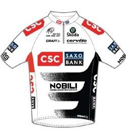 CSC og Saxo Bank som cykelholdssponsor