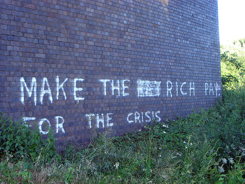 Make the rich pay for the crisis!