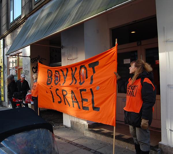 Boykot Israels landsfremstød 14. februar 2009