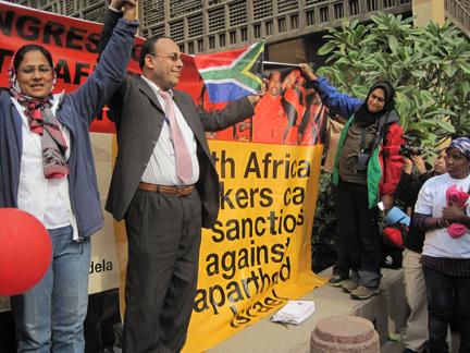 Sydafrikanske arbejdere kræver sanktioner mod Apartheid-Israel