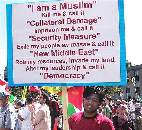 Til kamp for demokrati og ytringsfrihed!