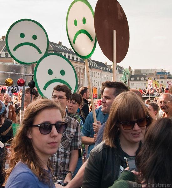 Protest mod VKO-nedskæringer 2010 - Foto: Lars B. Johannesen flickr