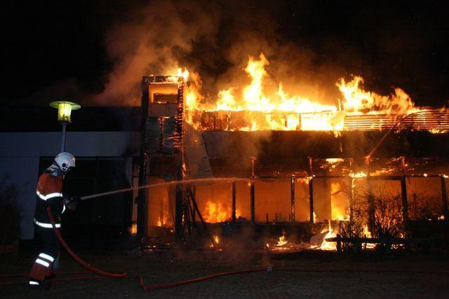 Brand Værebro Skole